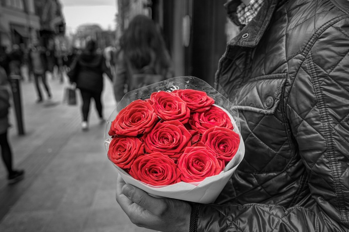 Květina na první rande